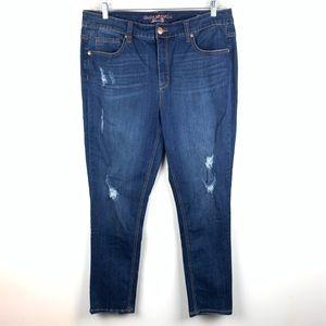 Mellisa McCarthy Seven7 Jeans Skinny 18W